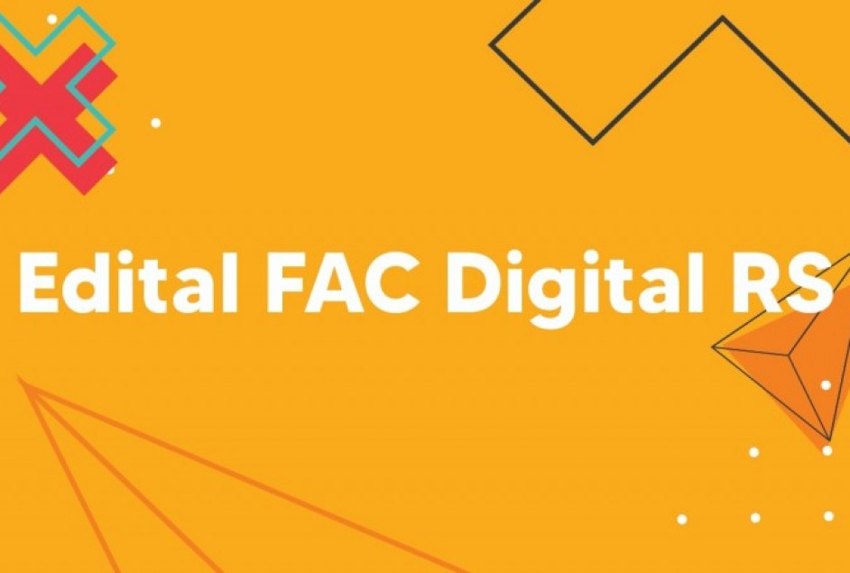 Abertas as inscrições do FAC DIGITAL RS