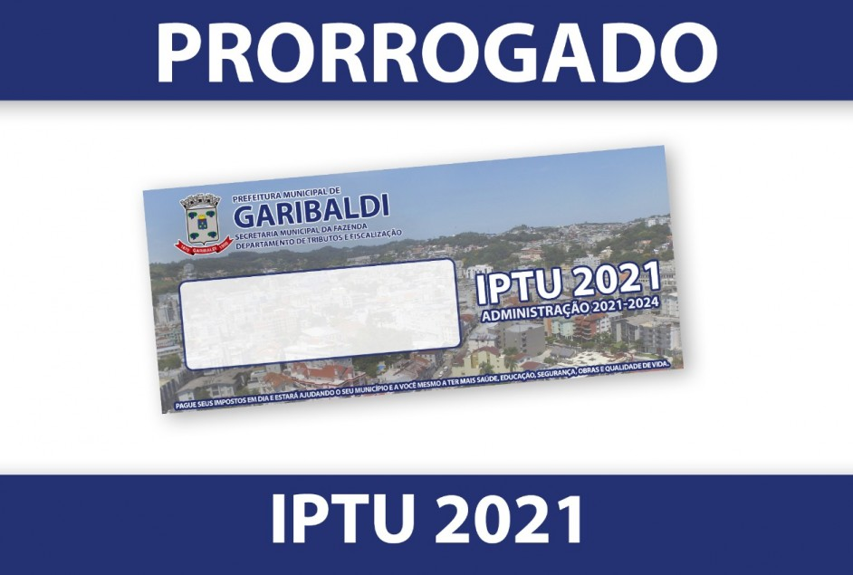 Prefeitura prorroga prazos para pagamento do IPTU e ISSF