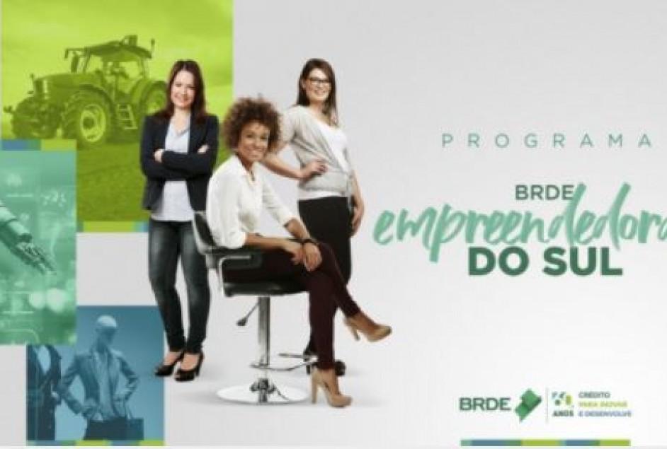 Programa de crédito para mulheres empreendedoras está disponível no BRDE