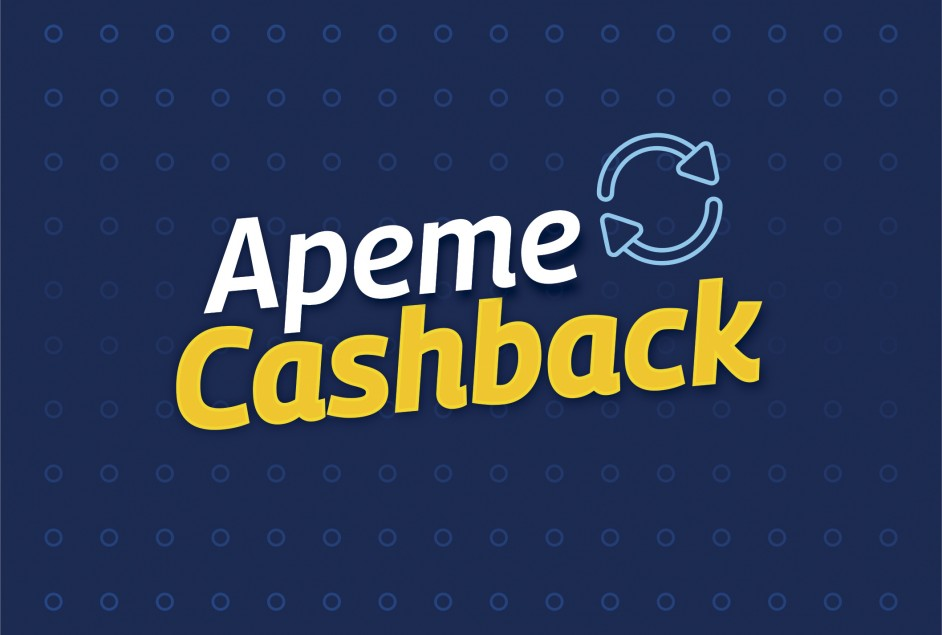 "Apeme lança programa ""Apeme Cashback"""
