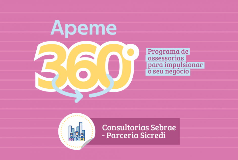 Associados Apeme e Sicredi podem acessar consultorias Sebrae com subsídio financeiro