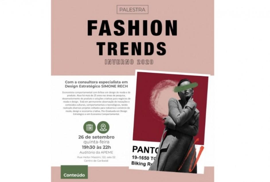 Tendências da moda para o Inverno 2020 serão apresentadas em evento do Abrace Garibaldi