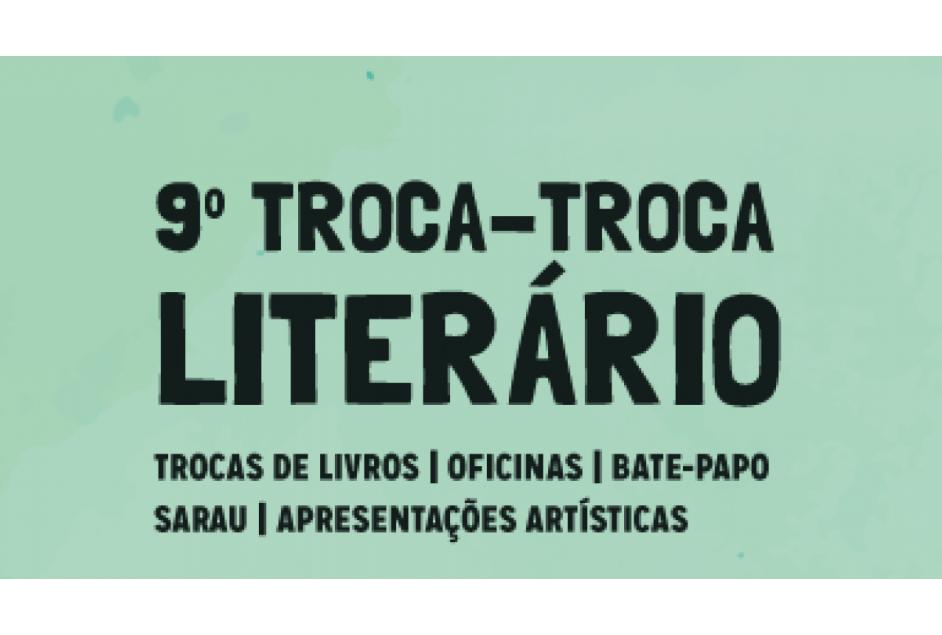 Troca-troca Literário acontece no próximo sábado