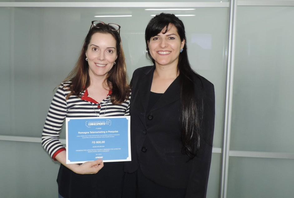 Apeme entrega premiação do Passaporte do Conhecimento 2019